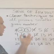 The Sieve of Eratosthenes