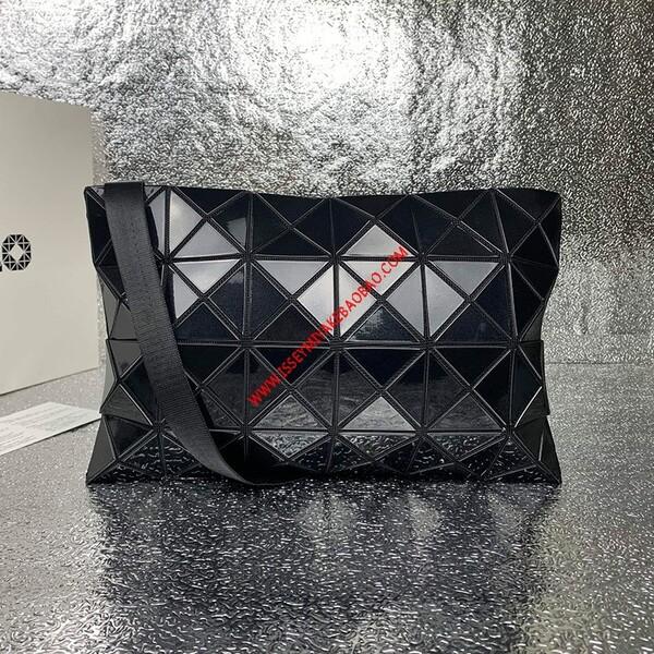 Issey Miyake Large Lucent Basic Crossbody Bag Black