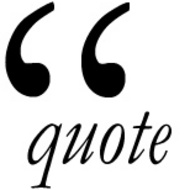 Correct punctuation with quotes