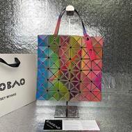 Issey Miyake Lucent Rainbow Tote Bag Rainbow
