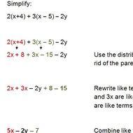 Pre-algebra Lesson 3.1: Simplifying Algebraic Expressions