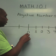 Introduction to Negative Numbers