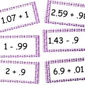 Pre-algebra Lesson 5.2: Adding & Subtracting Decimals