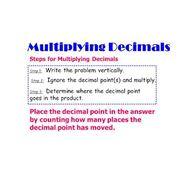 Pre-algebra Lesson 5.3: Multiplying Decimals