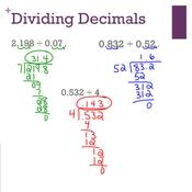 Pre-algebra Lesson 5.4: Dividing Decimals