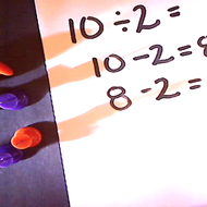 Dividing through Subtraction