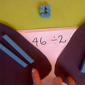 Dividing with Base Ten, 2 digits