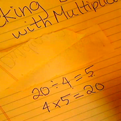 Checking Division with Multiplication