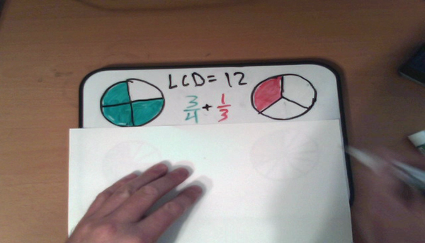 Adding Fractions with Unlike Denominators Regrouping
