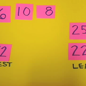 Ordering Two Digit Numbers