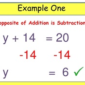 Math 6 Lesson 11.2: Solving Equations with the Addition Property