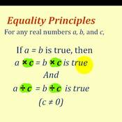 Math 6 Lesson 11.3: Solving Equations with the Multiplication Property