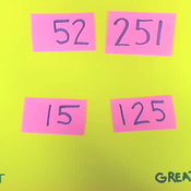 Ordering Two to Three Digit Numbers