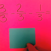 Subtracting Fractions with Like Denominators Regrouping