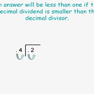 Dividing Tenths by Tenths
