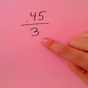 Dividing a Decimal by a Whole Number