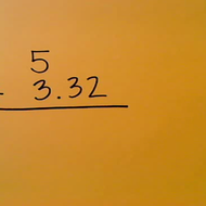 Adding Whole Numbers and Decimals