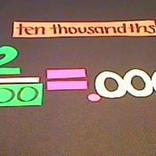 Ten Thousandths
