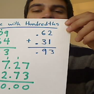 Adding Hundredths