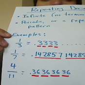 Repeating Decimal