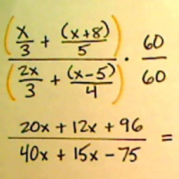 Simplifying Complex Fractions in the Real World