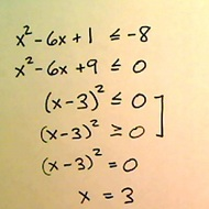 Solutions of Quadratic Inequalities