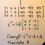 Cryptography With Matrices
