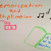 Multiplication and Memorization
