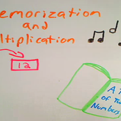Multiplication and Memorization