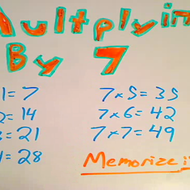 Multiplying by Seven