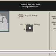 Distance, Rate, and Time: Solving for Distance