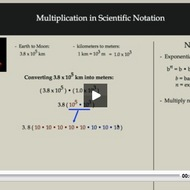 Multiplication in Scientific Notation