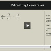 Rationalizing Denominators