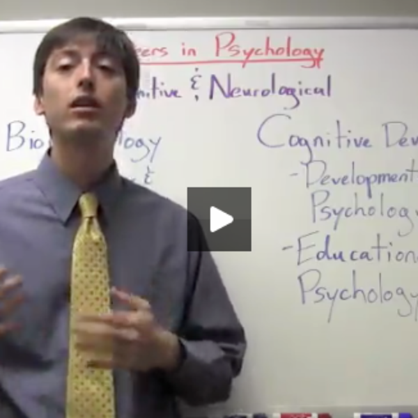 Careers in Psychology: Cognitive & Neurological