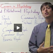 Careers in Psychology: Social & Relational