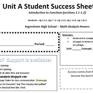 Unit A Concepts 1-3: Finding slope and writing equations of lines