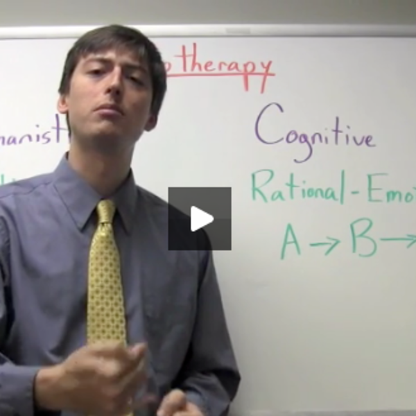 Psychotherapy: Humanistic & Cognitive Approaches