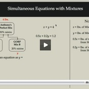 Simultaneous Equations with Mixtures