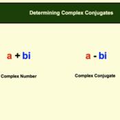 Determining the Complex Conjugate