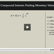 Compound Interest: Finding Monetary Value