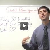 Milestones in Social Development