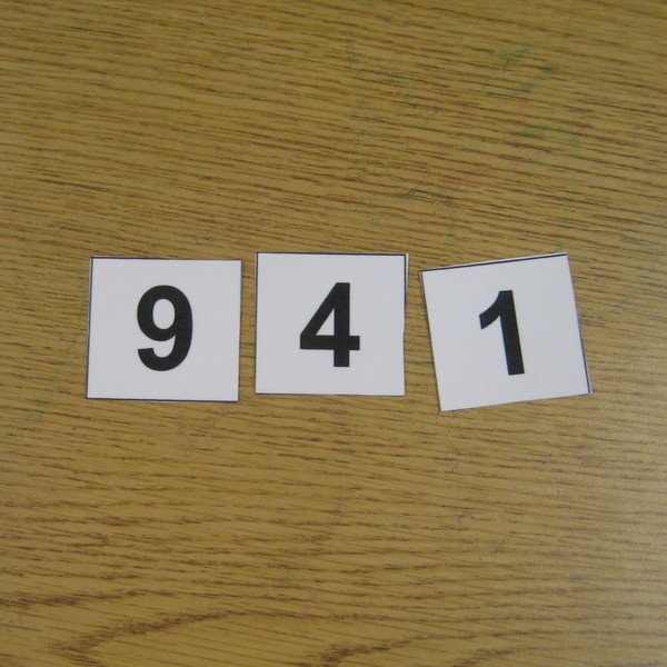 Place Value Activity: Build A Number