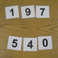 Place Value Activity: Low,Middle High