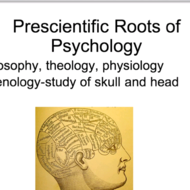 History of Psychology: Structuralism & Functionalism