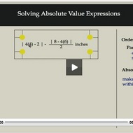 Solving Absolute Value Expressions