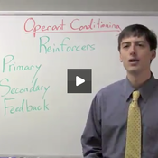 Operant Conditioning Primary and Secondary Reinforcers
