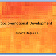 Erickson's Stages of Psychosocial Development: Trust vs. Mistrust through Industry vs. Inferiority