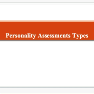 Assessment: Types