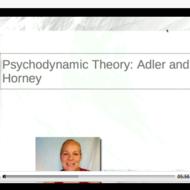 Neo-Freudians: Horney and Adler