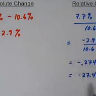Using Percentages in Statistics